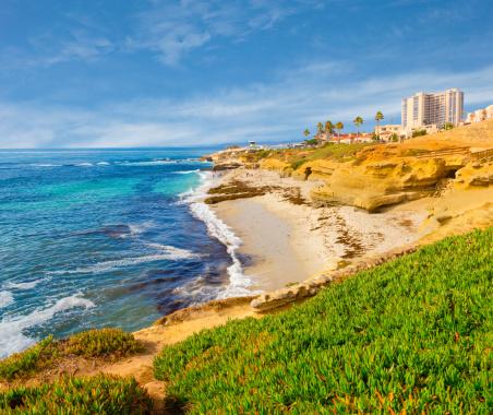 Bay of Water「La Jolla coastline in Southern California (P)」:スマホ壁紙(0)