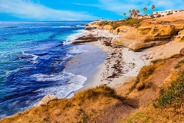 La Jolla coastline in Southern California,San Diego (P):スマホ壁紙(壁紙.com)