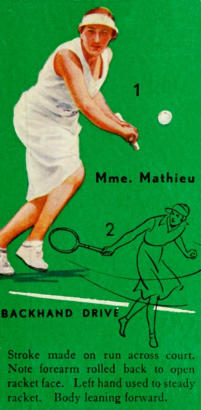 スポーツ用品「Mme Mathieu - Backhand Drive」:写真・画像(16)[壁紙.com]