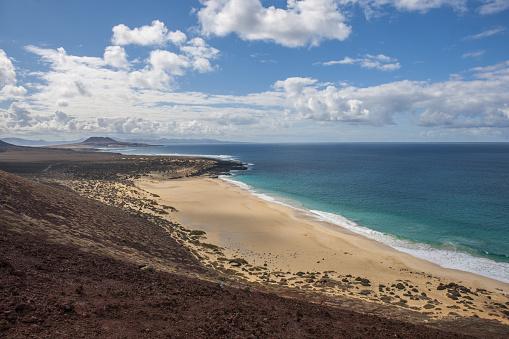 La Graciosa - Canary Islands「Playa de las Conchas」:スマホ壁紙(18)