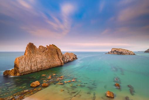 Cantabria「Playa de la Arnia, Santander, Cantabria, Spain」:スマホ壁紙(8)