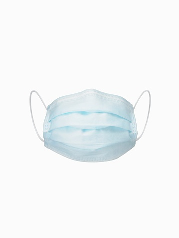 Protective Face Mask「A Surgical Mask on a White Background」:スマホ壁紙(6)