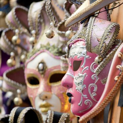 Period Costume「Venetian mask, selective focus」:スマホ壁紙(19)