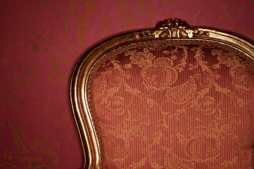 Carving - Craft Product「Ornate antique armchair, close-up」:スマホ壁紙(15)