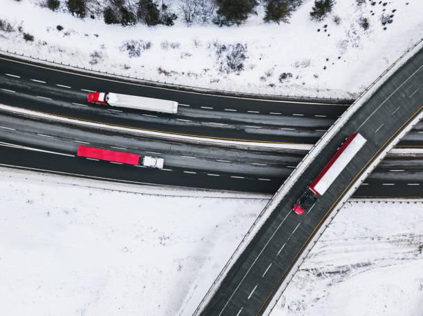 Winter Trucking:スマホ壁紙(壁紙.com)