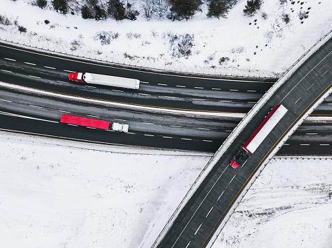 Dividing Line - Road Marking「Winter Trucking」:スマホ壁紙(19)