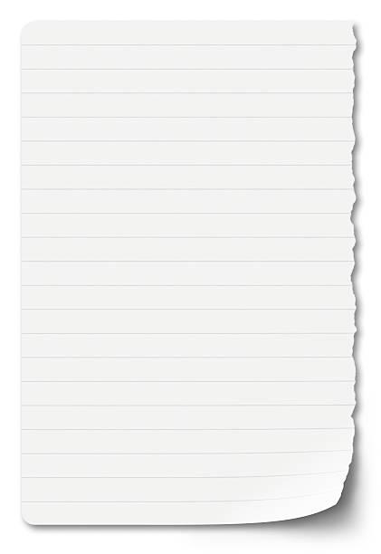 sheet of notebook paper on a white background:スマホ壁紙(壁紙.com)