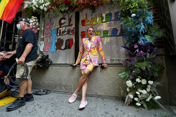 Pink Shoe「New York City Marks 50th Anniversary Of First Pride March」:写真・画像(15)[壁紙.com]