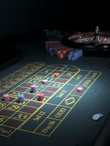 Leisure Games「Roulette betting table, bets placed on some numbers」:スマホ壁紙(17)