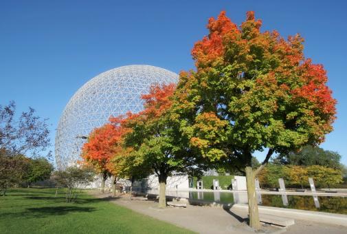 September「Montreal Biosphere Park」:スマホ壁紙(7)