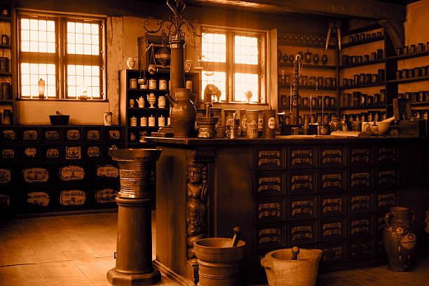 Vintage pharmacy:スマホ壁紙(壁紙.com)