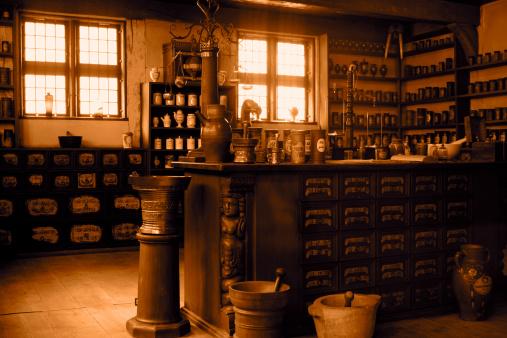 Chemical「Vintage pharmacy」:スマホ壁紙(12)
