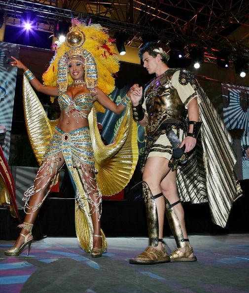 Salad「Jenny McCarthy Hosts Caesars Palace 40th Anniversary Toga Party」:写真・画像(17)[壁紙.com]