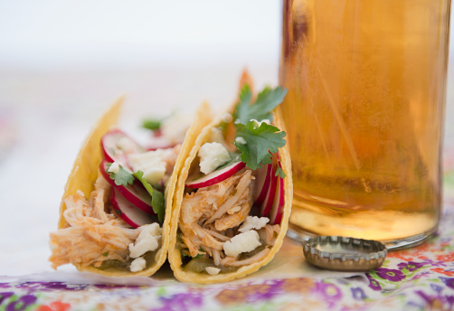 Taco「Beer and Mexican chicken tacos」:スマホ壁紙(6)