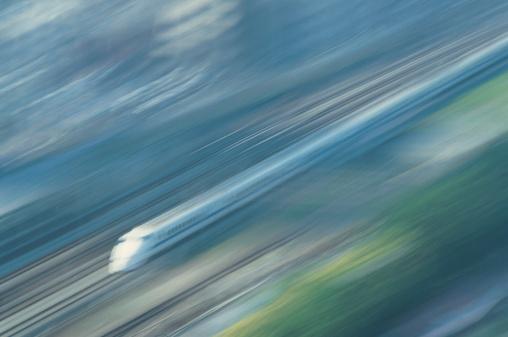 Passenger「Blurred passenger train」:スマホ壁紙(9)