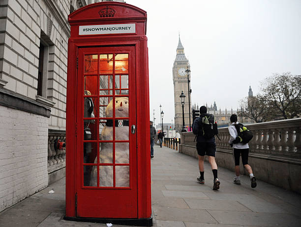 John Lewis Snowman Visits London:ニュース(壁紙.com)
