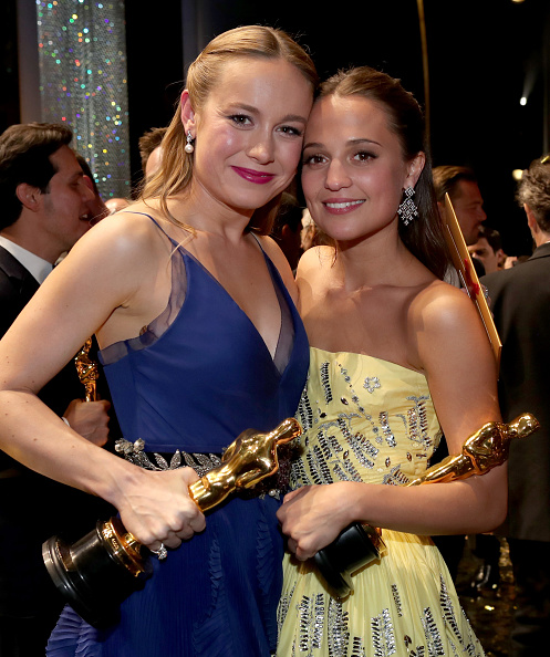 Two People「88th Annual Academy Awards - Backstage And Audience」:写真・画像(1)[壁紙.com]