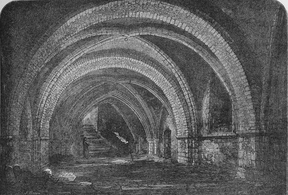 Ceiling「Crypt of St John's Church, Clerkenwell, London 1878 (1906)」:写真・画像(14)[壁紙.com]