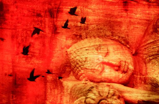 Praying「Reclining buddha」:スマホ壁紙(2)