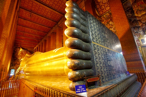 Buddha statue「Reclining Buddha feet at Wat Pho.」:スマホ壁紙(19)