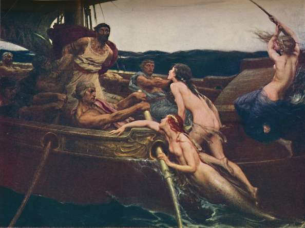 Ancient Greece「Ulysses And The Sirens」:写真・画像(8)[壁紙.com]