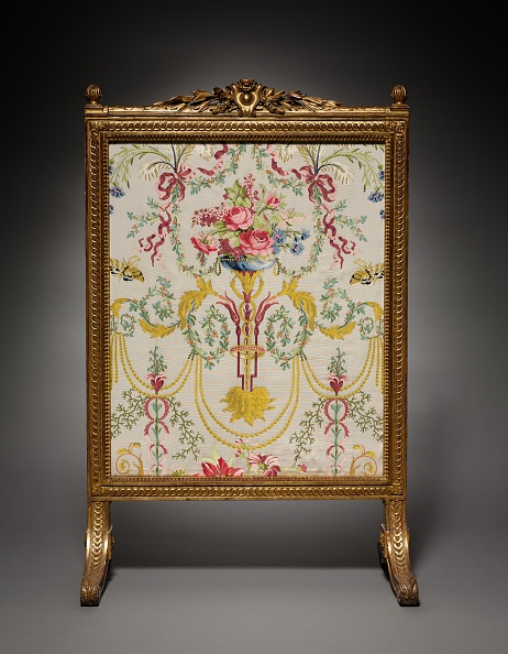 Gilded「Fire Screen (Écran De Cheminée) And Textile Panels」:写真・画像(14)[壁紙.com]