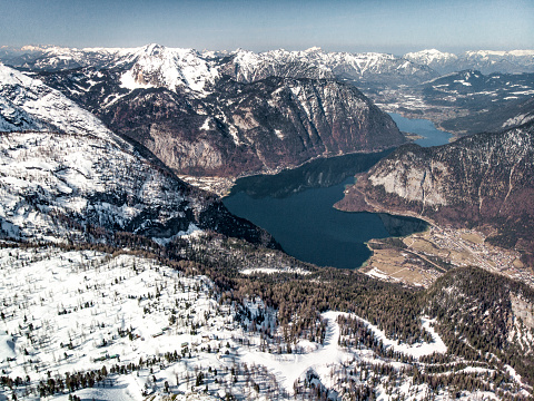 Dachstein Mountains「Majestic view of Hallstater see lake」:スマホ壁紙(13)