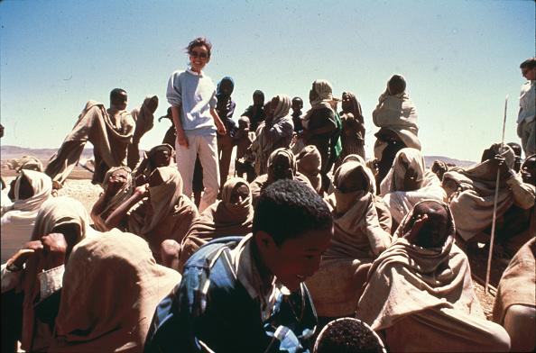 Charity and Relief Work「Hepburn In Ethiopia」:写真・画像(7)[壁紙.com]