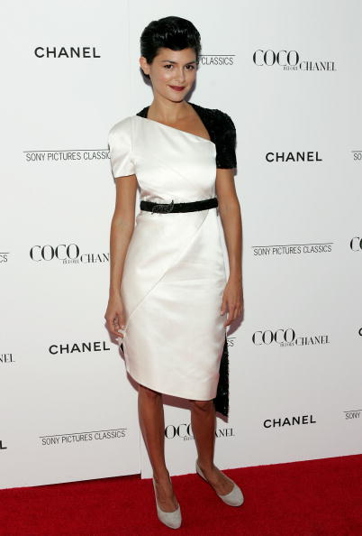 "Audrey Tautou「CHANEL Presents the New York Premiere of ""Coco Before CHANEL"" - Red Carpet」:写真・画像(13)[壁紙.com]"