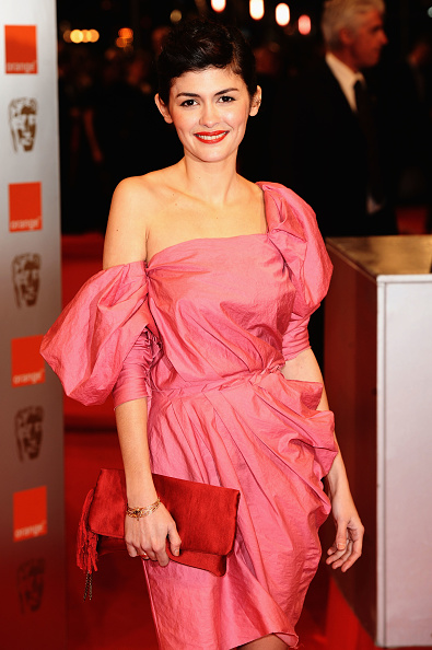 オドレイ・トトゥ「Orange British Academy Film Awards 2010 - Red Carpet Arrivals」:写真・画像(14)[壁紙.com]