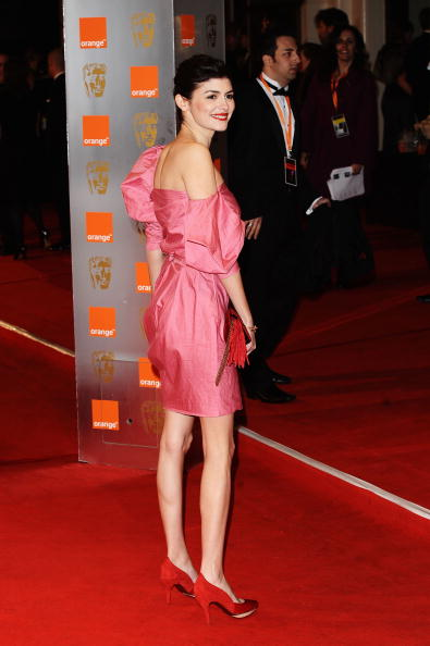 Audrey Tautou「Orange British Academy Film Awards 2010 - Red Carpet Arrivals」:写真・画像(10)[壁紙.com]