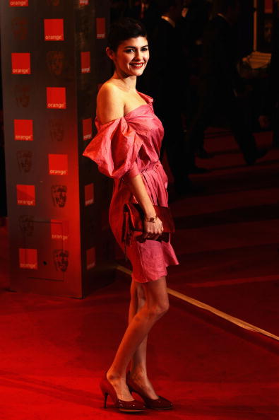 Audrey Tautou「Orange British Academy Film Awards 2010 - Red Carpet Arrivals」:写真・画像(12)[壁紙.com]