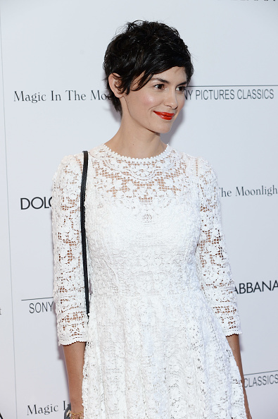 オドレイ・トトゥ「'Magic In The Moonlight' New York Premiere - Arrivals」:写真・画像(12)[壁紙.com]