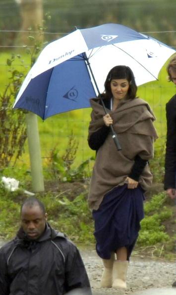 Audrey Tautou「Da Vinci Code Filming At Rosslyn Chapel」:写真・画像(11)[壁紙.com]
