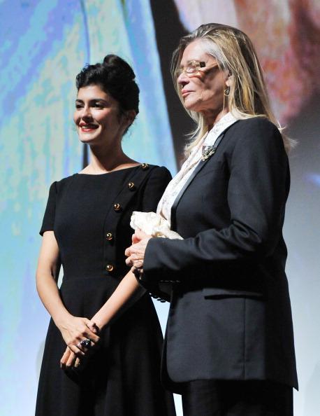 "Audrey Tautou「""Therese Desqueyroux"" Premiere - 2012 Toronto International Film Festival」:写真・画像(7)[壁紙.com]"