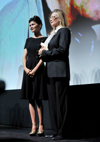 "Audrey Tautou「""Therese Desqueyroux"" Premiere - 2012 Toronto International Film Festival」:写真・画像(2)[壁紙.com]"