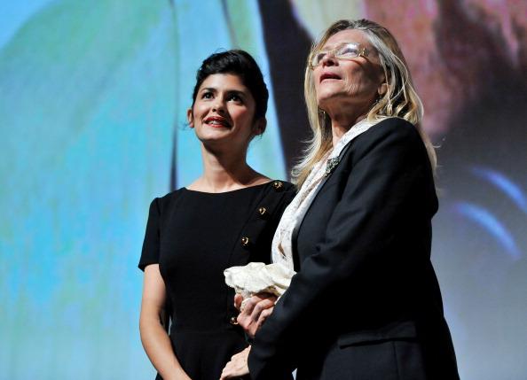 "Audrey Tautou「""Therese Desqueyroux"" Premiere - 2012 Toronto International Film Festival」:写真・画像(5)[壁紙.com]"
