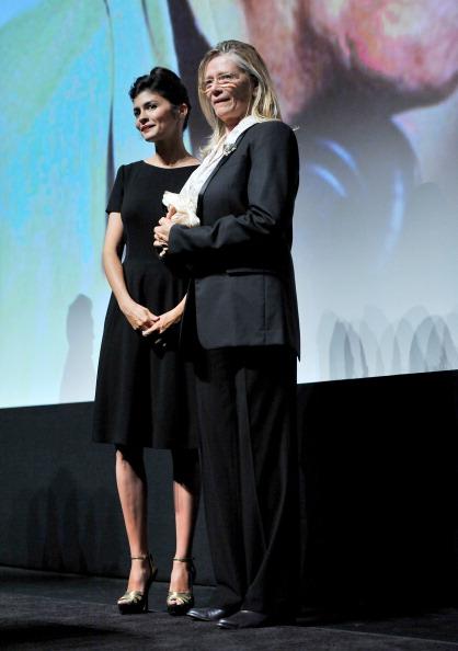 "Audrey Tautou「""Therese Desqueyroux"" Premiere - 2012 Toronto International Film Festival」:写真・画像(3)[壁紙.com]"