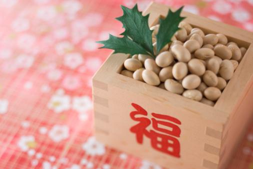 節分「Soybean for setsubun」:スマホ壁紙(8)