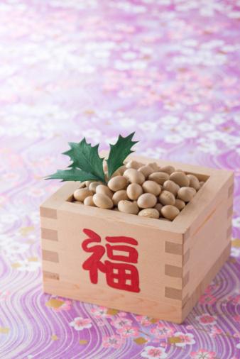 節分「Soybean for setsubun」:スマホ壁紙(6)