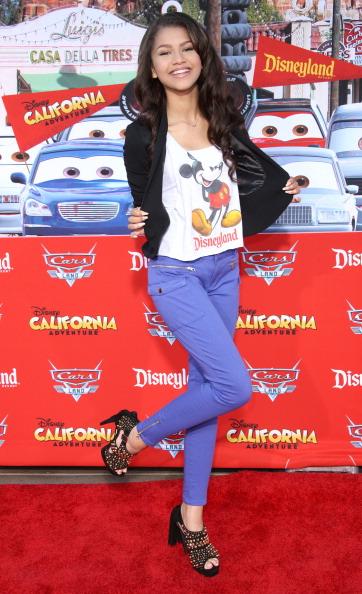 ミッキーマウス「Grand Opening Of 'Cars Land' At Disneyland Resort」:写真・画像(7)[壁紙.com]