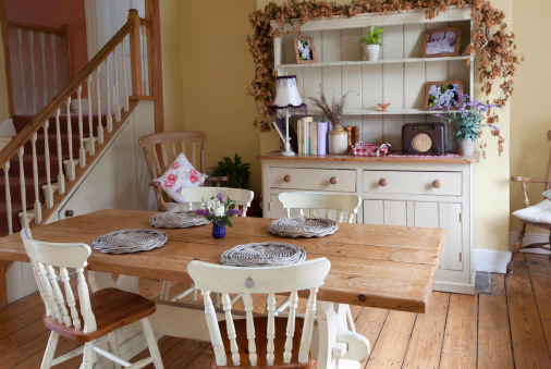 Old-fashioned「Shabby Chic Kitchen」:スマホ壁紙(8)