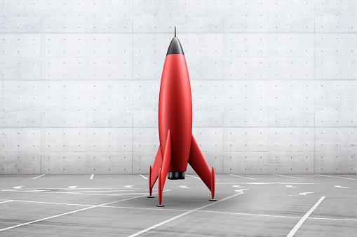 Out Of Context「Rocket in parking lot」:スマホ壁紙(11)