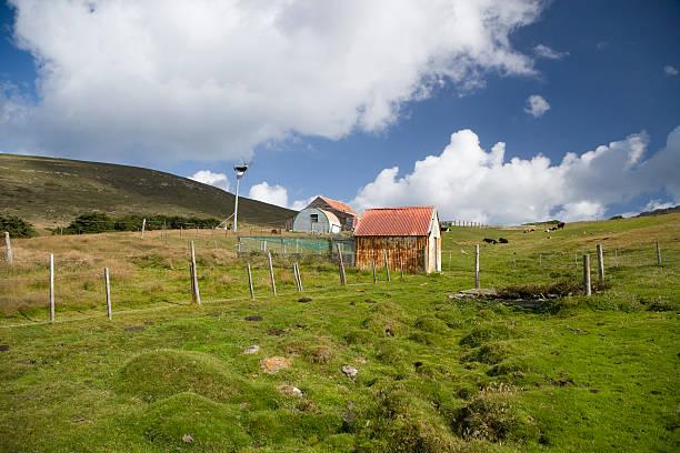 Rural Farming House Falkland Islands:スマホ壁紙(壁紙.com)
