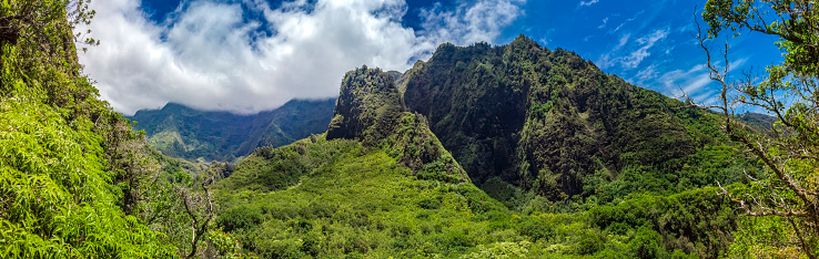 Volcanic Landscape「Iao Needle State Monument」:スマホ壁紙(12)