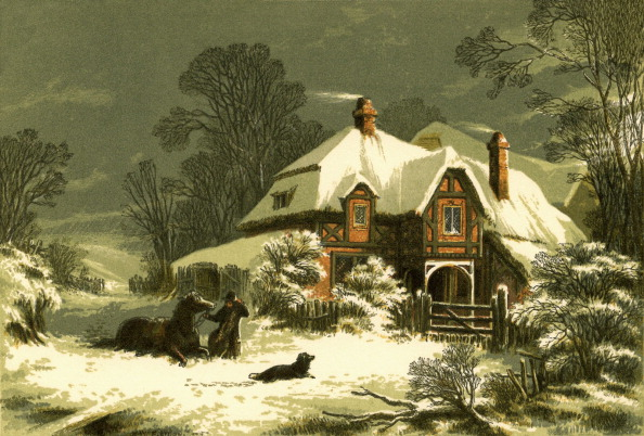 Horizon「'The Snow Storm' by Ralph Waldo Emerson」:写真・画像(13)[壁紙.com]