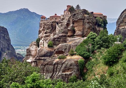 Trikkala「The Varlaam moastery in the Meteora site」:スマホ壁紙(17)