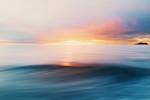 Twilight「Abstract Sea and Sky Background」:スマホ壁紙(8)