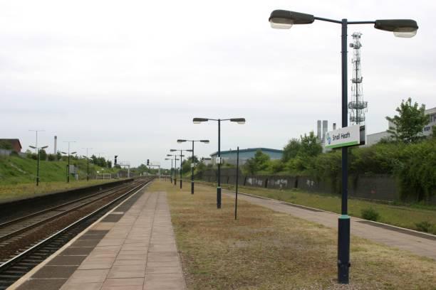 Platform view at Small Heath station:ニュース(壁紙.com)