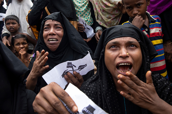 Paula Bronstein「Rohingya Refugees Mark One Year Since The Crisis」:写真・画像(14)[壁紙.com]